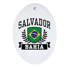 Salvador Bahia Brazil Ornament (Oval)