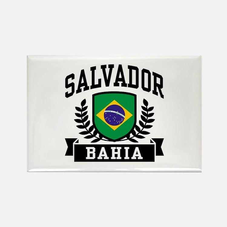 Salvador Bahia Brazil Rectangle Magnet
