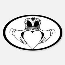 Oval Car Window Sticker Sticker (Oval)