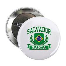 """Salvador Bahia Brazil 2.25"""" Button"""