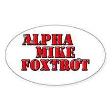 Alpha Mike Foxtrot, Decal
