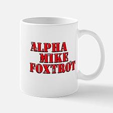 Alpha Mike Foxtrot, Mug
