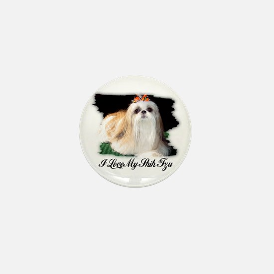 I LOVE MY SHIH TZU Mini Button