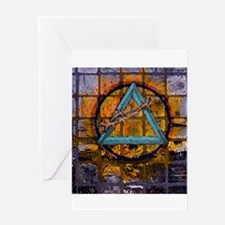 All things Sacred Greeting Card