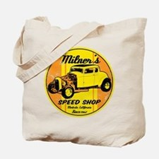 Milner's Speed Shop Tote Bag