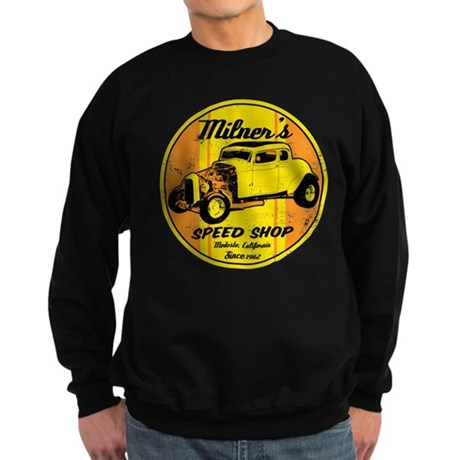 Milner's Speed Shop Sweatshirt (dark)