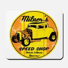 Milner's Speed Shop Mousepad