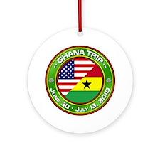 Ghana Trip - 2010 Ornament (Round)