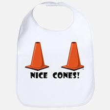 NICE CONES 1w Bib