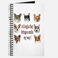 A Corgi a Day Brings a Smile Journal