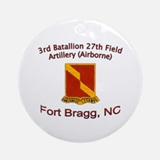 3rd Bn 27th FA Ornament (Round)