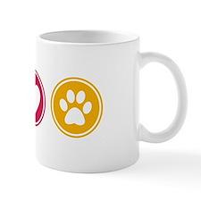 Peace - Love - Dogs Mug