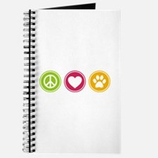 Peace - Love - Dogs Journal
