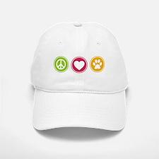 Peace - Love - Dogs Baseball Baseball Cap