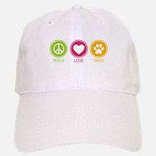 Peace - Love - Dogs 1 Baseball Baseball Cap