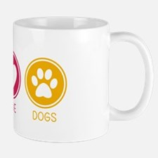 Peace - Love - Dogs 1 Mug