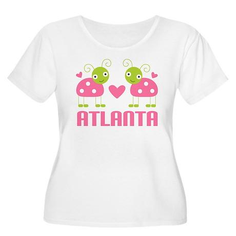 Ladybug Atlanta Women's Plus Size Scoop Neck T-Shi