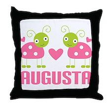 Ladybug Augusta Throw Pillow