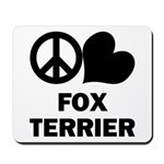 Fox Terrier Mousepad