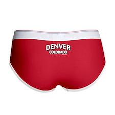 Denver Colorado Women's Boy Brief