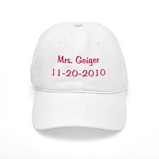 Mrs. Geiger 11-20-2010 Baseball Cap