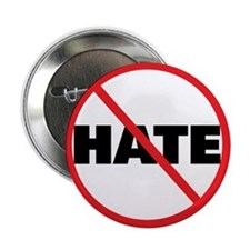 "No Hate-Circle Slash 2.25"" Button"