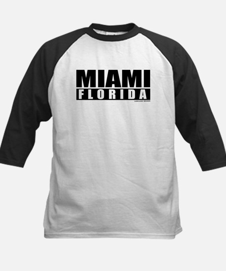 Miami Florida Kids Baseball Jersey