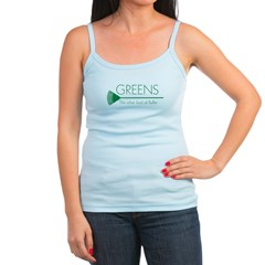 Greens: Fluffers Jr.Spaghetti Strap
