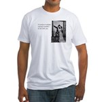 Subway Transfers Fitted T-Shirt
