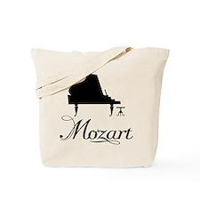 Piano Mozart Tote Bag
