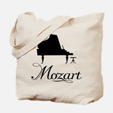 Piano Mozart Tote Bag