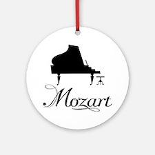 Piano Mozart Ornament (Round)