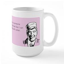 Sleep With Sober Mug