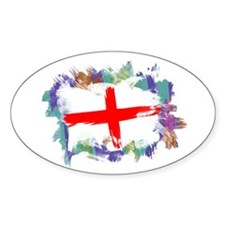Colorful England Decal