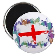 Colorful England Magnet