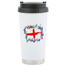 Colorful England Travel Mug