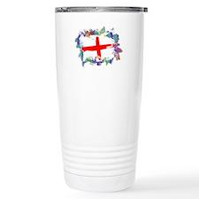 Colorful England Travel Mug