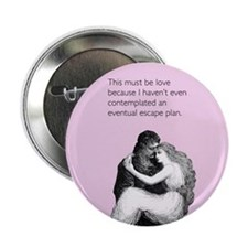 "Must Be Love 2.25"" Button"