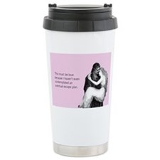 Must Be Love Stainless Steel Travel Mug