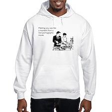Meeting You Hooded Sweatshirt