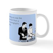 Meeting You Small Mug