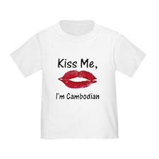 Kiss me, I'm Cambodian T