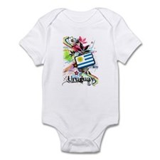 Flower Uruguay Infant Bodysuit