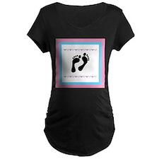 Black Footprints T-Shirt