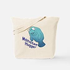 Manatee Hugger Tote Bag