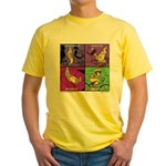 All Is Good on a Bike Yellow T-Shirt