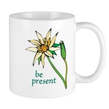 Lotus Flower/Be Present Mug