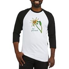Lotus Flower/Be Present Baseball Jersey