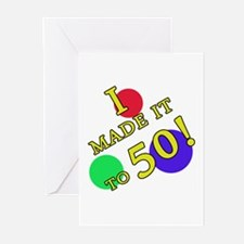 Made It To 50 Greeting Cards (Pk of 20)