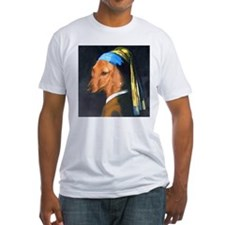 Dog with Pearl Earring Dachshund Shirt
